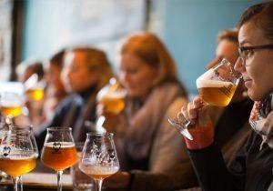 Beer Tasting at BrewDog Bar.