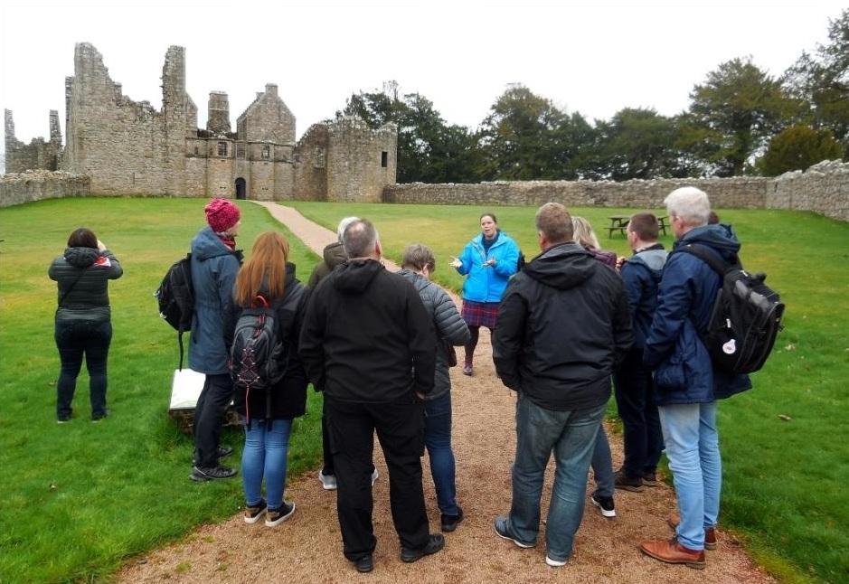Tolquhon Castle Tour