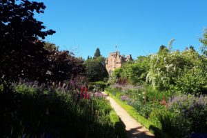 Crathes castle garden